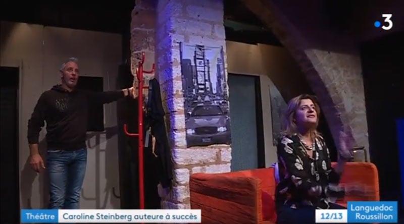 reportage-sexfriends-caroline-steinberg -Théatre Montpellier - Le Point Comedie