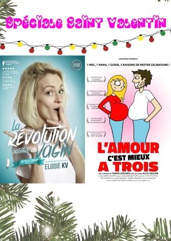 La Spéciale Saint Valentin le 14 Février 2020 au Théâtre Le Point Comédie
