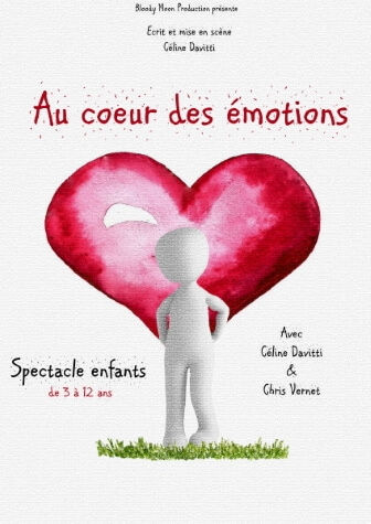 Au coeur des émotions Spectacle Jeune Public Enfants au Théâtre Le Point Comédie