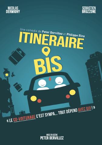 Itinéraire Bis Comédie café-théâtre au Théâtre Le Point Comédie