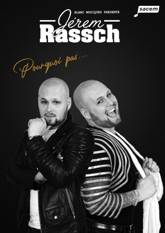 Jerem Rassch - One Man Show au Théâtre Le Point Comédie