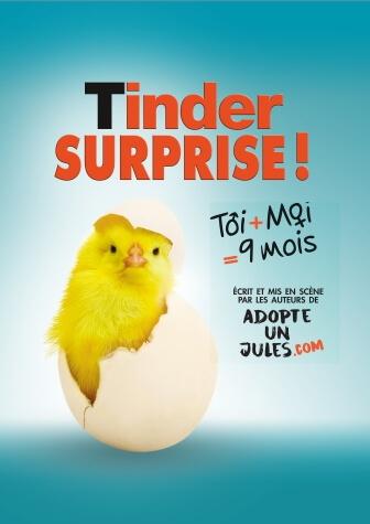 Tinder Surprise - Comédie café-théâtre au Théâtre Le Point Comédie