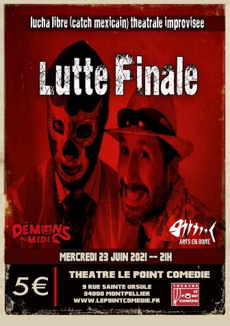 Lutte finale - Battle d'Impro au Théâtre Le Point Comédie