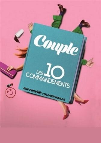 Couple 10 Commandements - Comédie café-théâtre au Théâtre Le Point Comédie