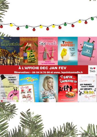 Programme Décembre 2020 Janvier Février 2021 - Théâtre Le Point Comédie